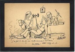 CPSM WWII Guerre 39-45 Satirique Pétain Hitler édition FFI Non Circulé Caricature Lavement Clistère - Weltkrieg 1939-45