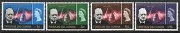 Tristan Da Cunha 1966 Set Of Stamps To Celebrate Churchill Commemoration. - Tristan Da Cunha
