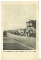 55 - VILOTTE DEVANT LOUPPY / MAIRIE EN RUINES AU CENTRE DU VILLAGE - France