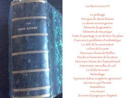 Les Bons Livres N°3 : Le Jardinage/Principes De Dessin Linéaire /Le Dessin En Tous Genres /Éléments De Géométrie /Élémen - Encyclopédies