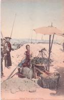 SELTENE Alte AK  HONG-KONG / China  - Chinese Fruit Seller -  Ca. 1910 - Chine (Hong Kong)