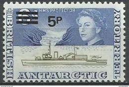 British Antarctic - 1971 John Biscoe Ship 5p/6d  MNH **   Sc 32 - British Antarctic Territory  (BAT)