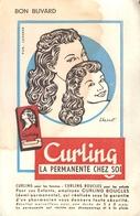 Buvard Ancien CURLINA PERMANENTE - BOUCLES FEMMES - Perfume & Beauty