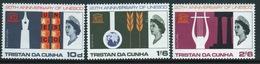 Tristan Da Cunha 1966 Set Of Stamps To Celebrate Anniversary Of UNESCO. - Tristan Da Cunha
