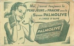 Buvard Ancien SAVON PALMOLIVE - HUILE D OLIVE - Parfums & Beauté