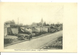 55 - VILLOTTE DEVANT LOUPPY / LOT DE TROIS CPA - France