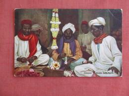Making Flower Garlands Tuck Series Native Life In India   Ref 3137 - Asie