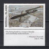 MARSHALL ISLANDS -  1994 History Of The Second World War - V-1 Bombardment Of England, 1944   M667 - Marshall
