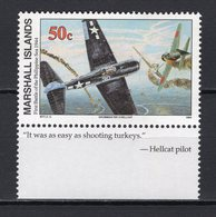 MARSHALL ISLANDS -  1994 History Of The Second World War - First Battle Of The Philippine Sea, 1944   M668 - Marshall