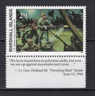 MARSHALL ISLANDS -  1994 History Of The Second World War - U.S. Marines Land On Saipan, 1944  M669 - Marshall