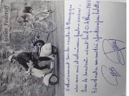 Carte Postale De Gilles FEDOROFF - Dédicace - Hand Signed - Autographe Authentique - Cycling