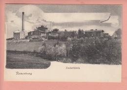 OLD 1900'S POSTCARD - POLAND - POLSKA - RIESENBURG - ZUCKERFABRIK - SUGAR FACTORY - Poland