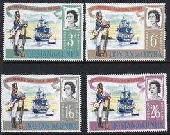 Tristan Da Cunha 1966 Set Of Stamps To Celebrate The 150th Anniversary Of The Garrison. - Tristan Da Cunha