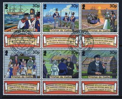 Tristan Da Cunha 2003 Set Of Stamps To Celebrate The Death Anniversary Of William Glass Founder. - Tristan Da Cunha