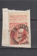 COB 74 Oblitéré BRUXELLES (rue Chancellerie) - 1905 Grosse Barbe