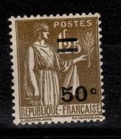 YV 298 N* Paix Surchargé Cote 4,60 Euros - France