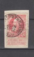 COB 74 Oblitéré BRUXELLES (Porte De Flandre) - 1905 Grosse Barbe