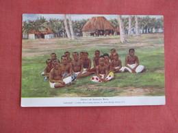 Samoan Boys London Missionary Society  Has Stamp & Cancel   Ref 3137 - Missions