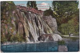 Budapest - Margitszigeti Vizeses - Wasserfall An Der Margareteninsel  - (1921) - Hongarije