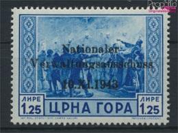 Montenegro (Dt.Bes.2.WK.) 12 Mit Falz 1943 Aufdruckausgabe (9265105 - Besetzungen 1938-45