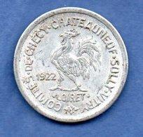 Loiret  -  10 Centimes 1922  - état  TTB - Monetary / Of Necessity
