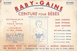 Buvard Ancien BABY GAINE - CEINTURE BEBE - Enfants