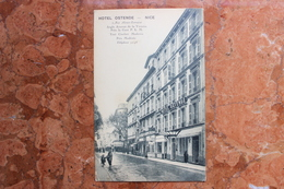 NICE (06) - HOTEL OSTENDE - RUE ALSACE-LORRAINE - PRES LA GARE PLM - Pubs, Hotels And Restaurants