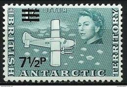 British Antarctic  - 1971 Otter Aircraft 7.5p/1s MNH **   Sc 34 - British Antarctic Territory  (BAT)