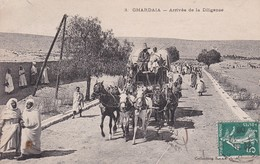 ALGERIE --   GHARDAIA -- Arrivée De La Diligence - Ghardaïa