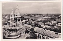Budapest - Látkép A Halászbástyával - Vue Avec Le Bastion Des Pecheurs - Hongarije