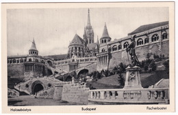 Budapest -  Halászbástya - Fischerbastei - Hongarije