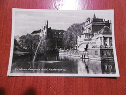 Lido En American Hotel, Amsterdam (carte Abimée) - Amsterdam