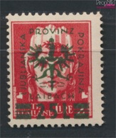Laibach (Dt.Bes.2.WK.) 18 Geprüft Postfrisch 1944 Aufdruckausgabe (9265123 - Besetzungen 1938-45