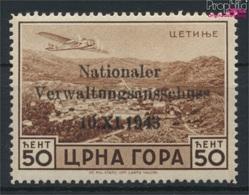 Montenegro (Dt.Bes.2.WK.) 15 Mit Falz 1943 Aufdruckausgabe (9265103 - Besetzungen 1938-45