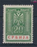 Serbien (Dt.Bes.2.WK.) P15 Mit Falz 1942 Portomarken (9260569 - Besetzungen 1938-45
