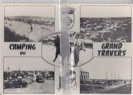 CPSM  CARNON-PLAGE  CAMPING INTERNATIONAL DU GRAND TRAVERS ( CARTE MULTI-VUES) - France