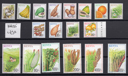 2001 - KENYA -  Catg.. Yv. 728/745 - NH - (UP.207.10) - Kenia (1963-...)