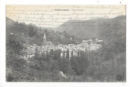 VILLECOMTAL  (cpa 12)  Vue Générale    -  L 1 - France