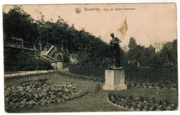 Brussel, Bruxelles, Jardin Botanique, D. 54 Reservedivision,  Feldpostexpedition, 2 Scans (pk55062) - Bossen, Parken, Tuinen