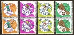 Congo Democratique 1966 Yvertn° 638-645*** MNH Cote 12,00 Euro Sport Football - Mint/hinged