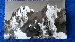 A Chaos D'Aiguilles Au Pays De Mont Blanc Europe - Cartoline