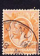 Kenya & Uganda - König Georg V. (Mi.Nr.: 6) 1922 - Gest. Used Obl. - Kenya, Uganda & Tanganyika