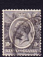 Kenya & Uganda - König Georg V. (Mi.Nr.: 23) 1927 - Gest. Used Obl. - Kenya, Uganda & Tanganyika