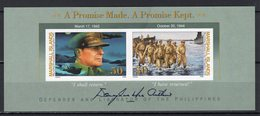 MARSHALL ISLANDS   - 1994 The 50th Anniversary Of General Douglas MacArthur's Return To Philippines   M676 - Guerre Mondiale (Seconde)