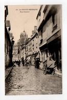 - CPA LA FERTE-BERNARD (72) - Rue Carnot (avec Personnages) - Edition Chotard N° 12 - - La Ferte Bernard