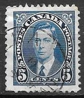 1937 King George VI, 5 Cents, Used - Used Stamps