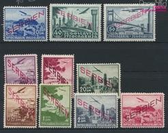 Serbien (Dt.Bes.2.WK.) 16-25 (kompl.Ausg.) Mit Falz 1941 Aufdruckausgabe (9265084 - Besetzungen 1938-45