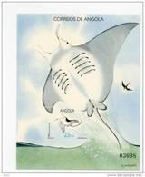 Angola--1991-Raie-Poisson-YT B11***MNH-Valeur 5 - Angola