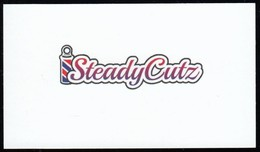 Steady Cutz, Inberness NB (*) (VC476) - Visiting Cards