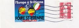 L'EUROPE A St ETIENNE FOIRE DE St ETIENNE SEPTEMBRE 92 - Commemorative Labels